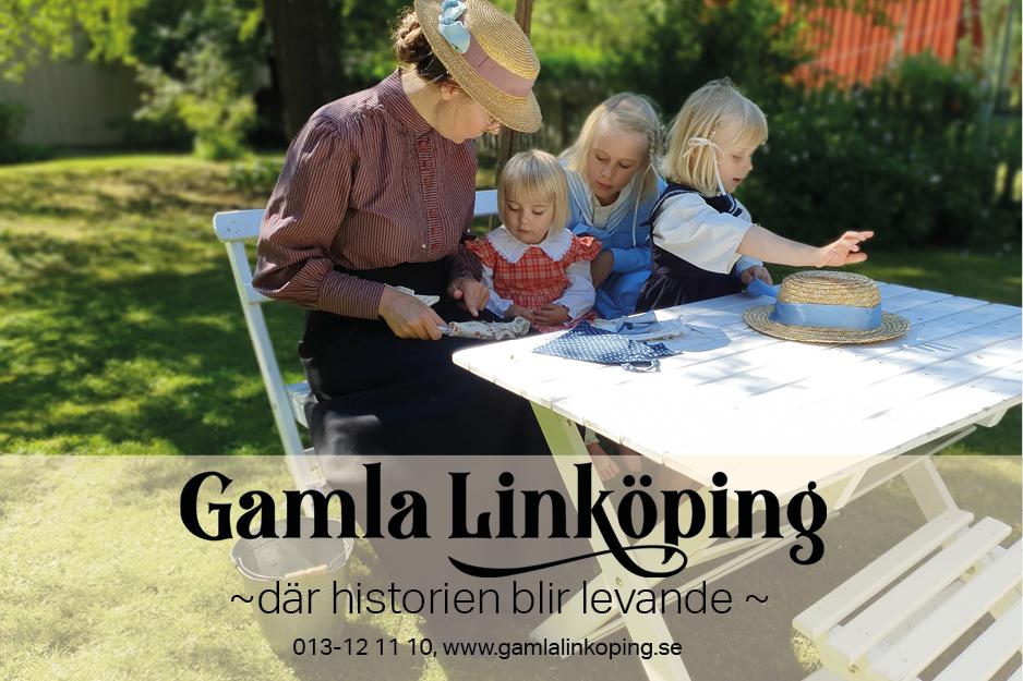 Gamla Linköping- footer